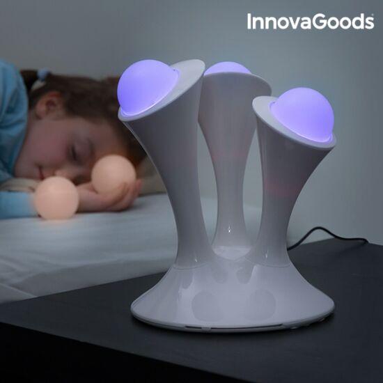 InnovaGoods többszínű fluoreszkáló LED lámpa