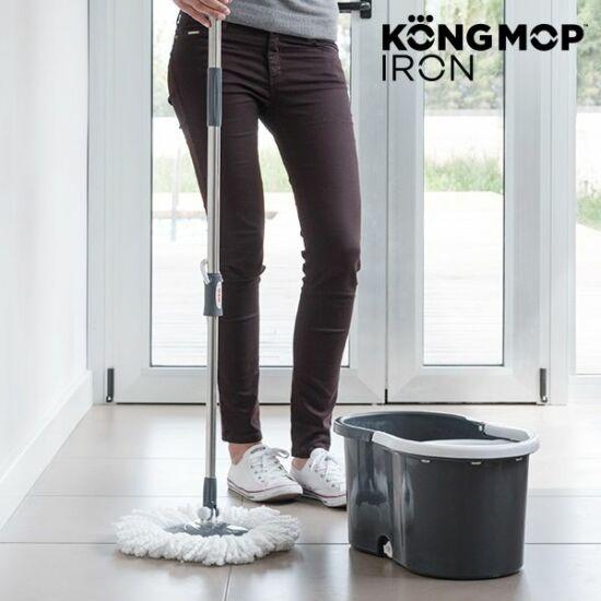 KONG MOP IRON csavarható mop vödörrel