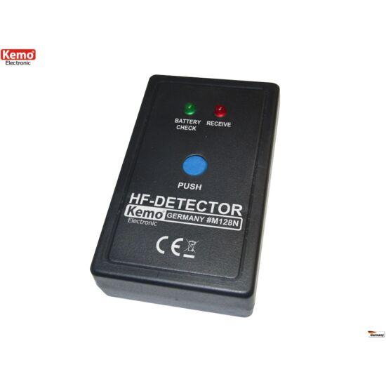 KEMO M128 poloskakereső lehallgató felderítő detektor ( 0,1Mhz - 2,4GHz)
