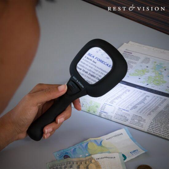 Magnifier & Vision nagyító LED és ultraibolya fénnyel