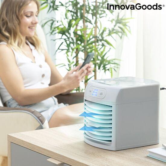 InnovaGoods mini párologtató, hordozható légkondicionáló LED-del (FREEZYQ+)