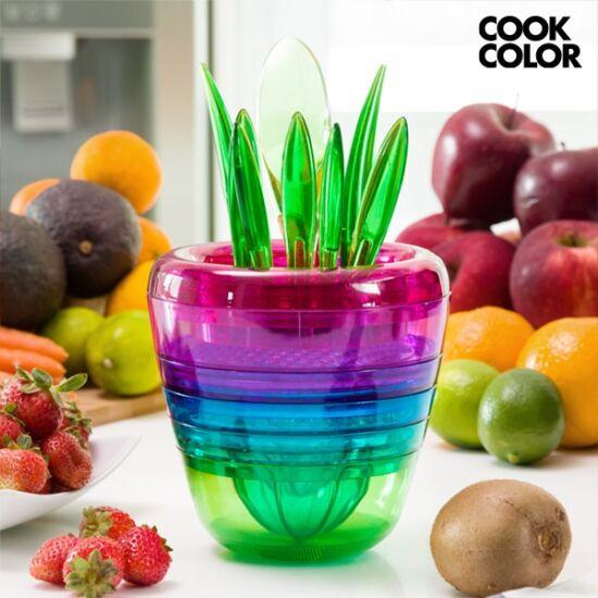 Multi Tool Fruit Cook Color egymásba rakható konyhai eszközök