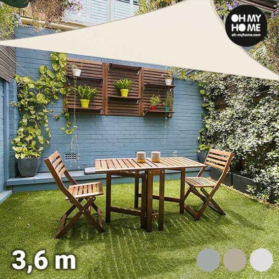 Oh My Home Ambiance háromszög alakú vitorlavászon (3,6 méter)