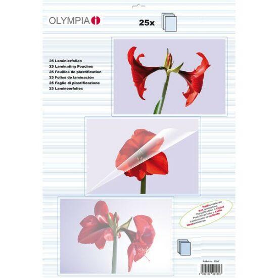 Olympia Lamináló fólia A4 80 micron 25 db/csomag