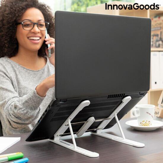 InnovaGoods összehajtható és állítható laptop állvány FLAPPOT