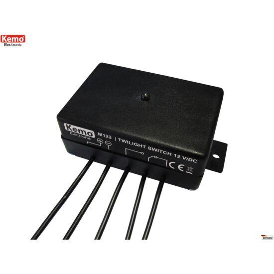 KEMO M122 alkonykapcsoló modul 12V/DC fényszenzor