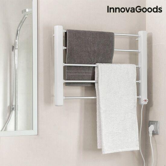 InnovaGoods 65W fehér szürke elektromos fali törölközőszárító (5 rúd)